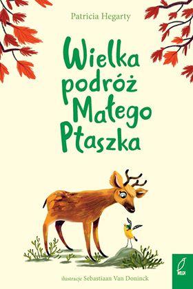 książki dla dzieci wielka podróż małego ptaszka