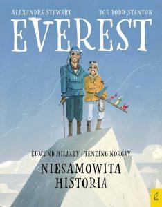"""Książka dla dzieci """"Everest. Niesamowita historia"""""""
