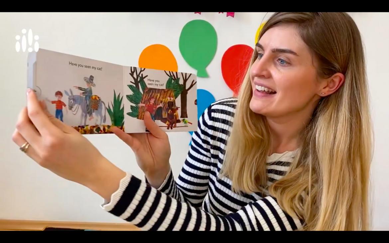 Książeczki dla dzieci czytane w języku angielskim