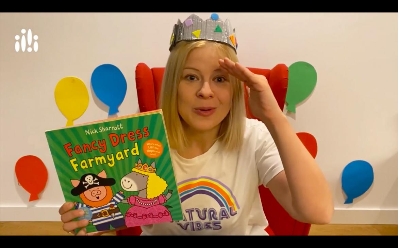 Ostatni odcinek z cyklu Early Stage czyta książeczki dla dzieci