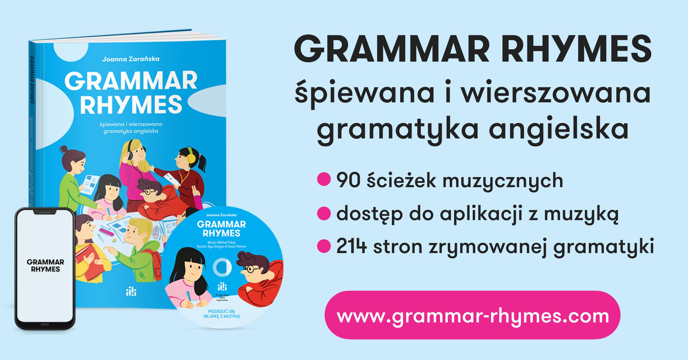 Podręcznik do nauki gramatyki języka angielskiego