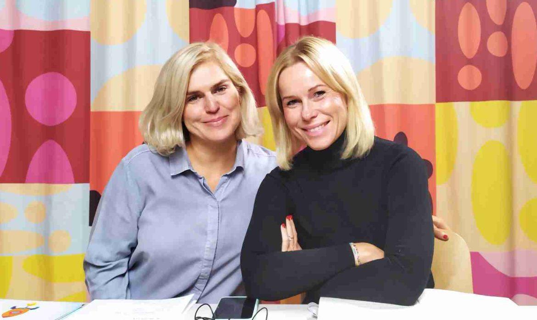 Tonia Bochińska i Magda Adaś