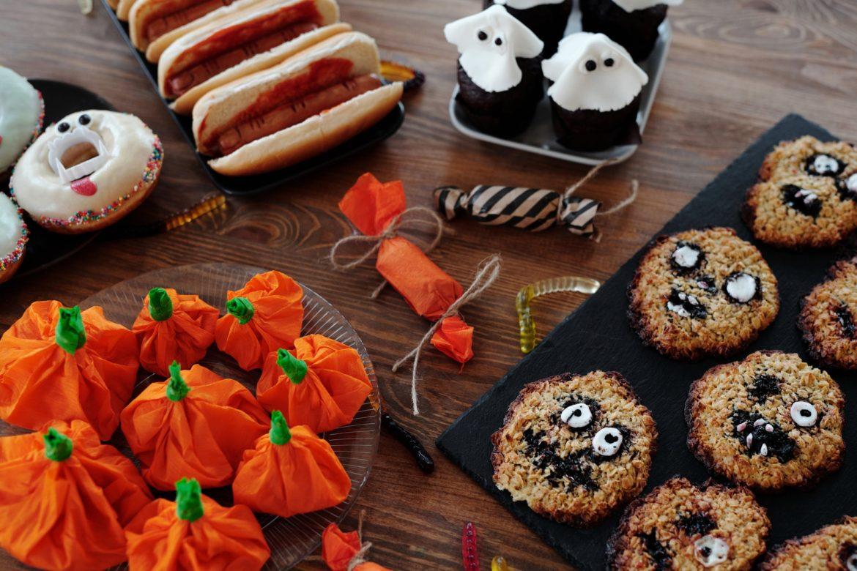 przekąski na Halloween party